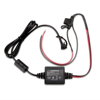 """Power Cable for Garmin Zumo 340/ 345/ 350/ 390/ 395, motorcycle, """"with open cable-ends"""""""