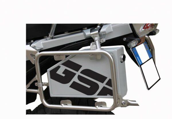 Alu Case for Pannier Racks, BMW 1200GS LC 2013-, R1200GS LC Adventure 2014-